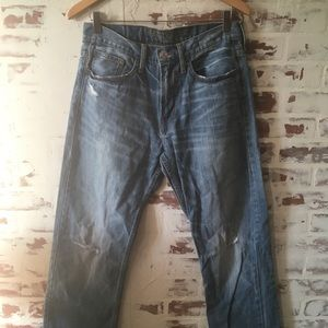 Men's American Eagle Relaxed Straight Jeans 31 32